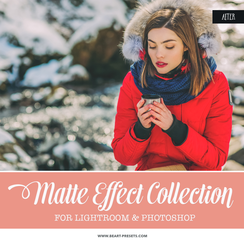 Matte Finish Photoshop actions