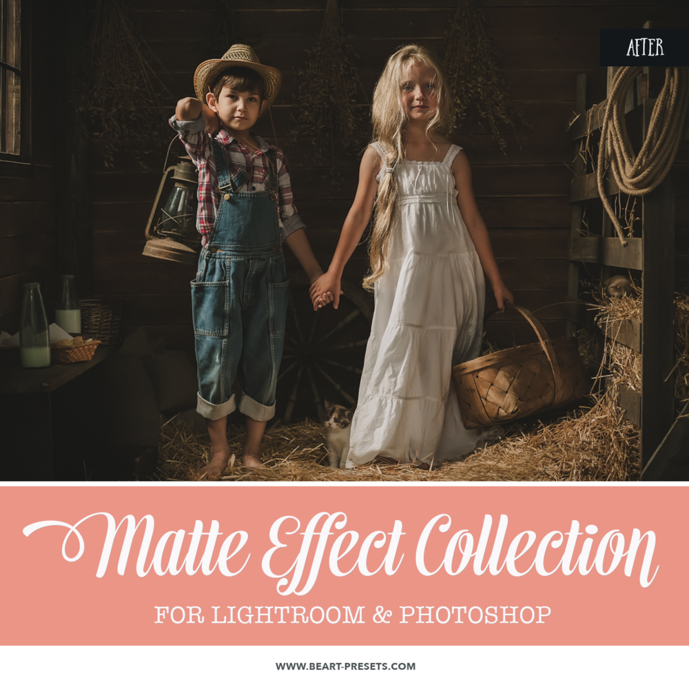 Beautiful Matte Effect Photoshop actions