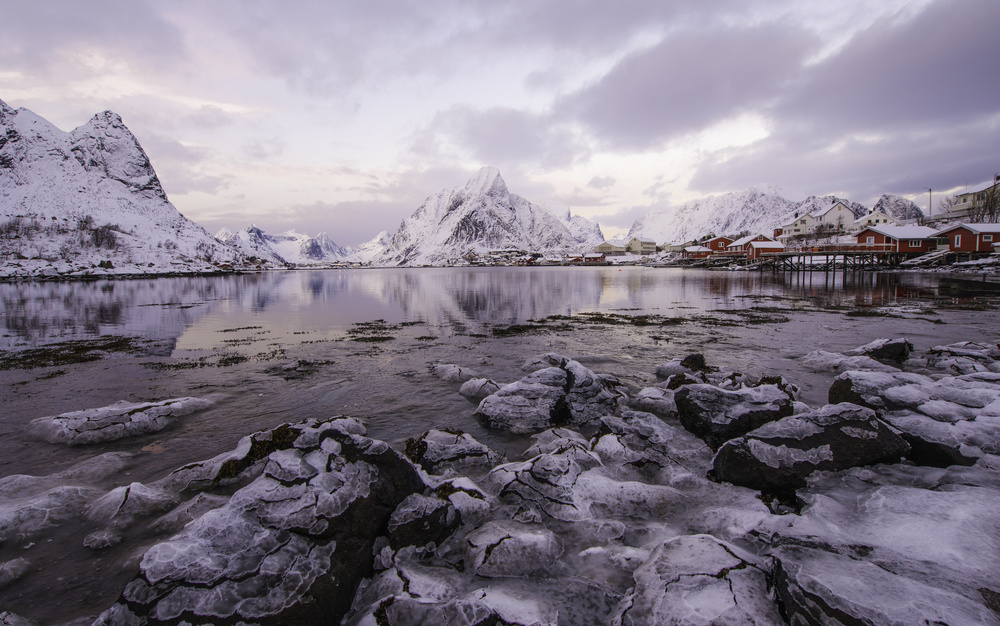 Reine in winter