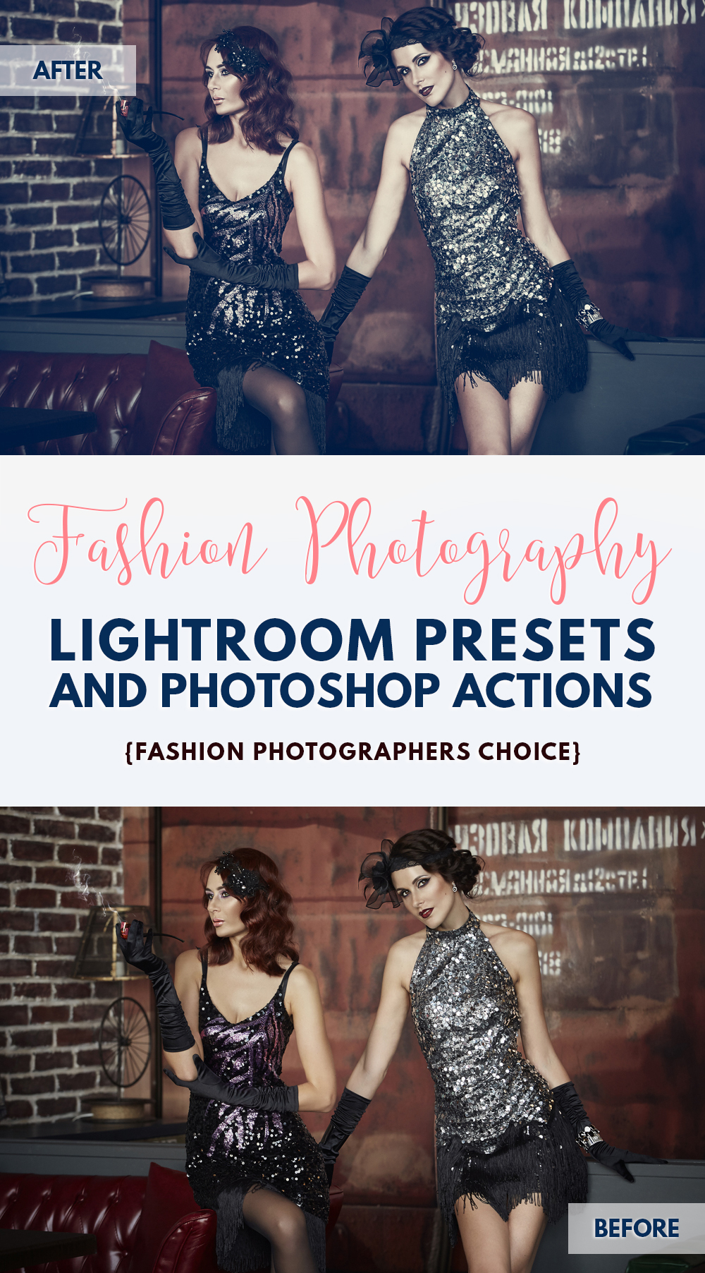 Best Lightroom presets for fashion photography