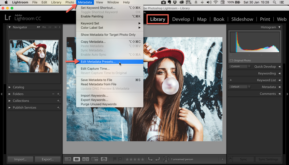 How To Add Copyright Metadata To Your Photos In Lightroom