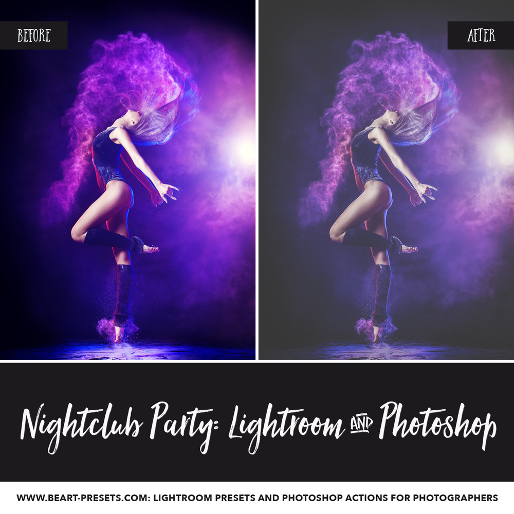 Dance Party Lightroom presets