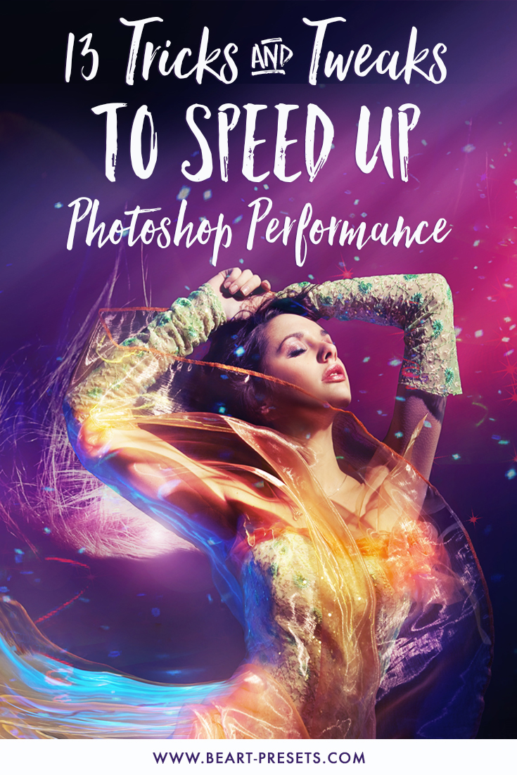 Speed Up Photoshop CC Performance