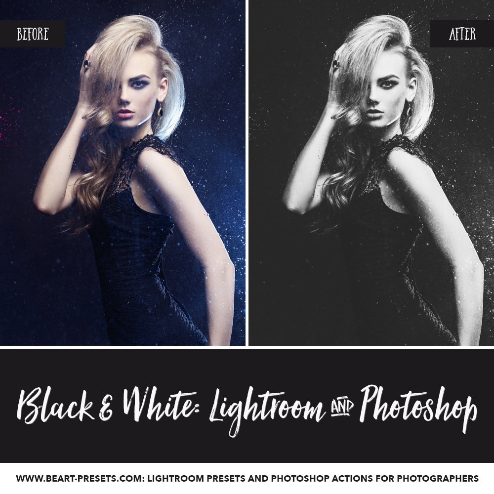 Best black and white Lightroom presets