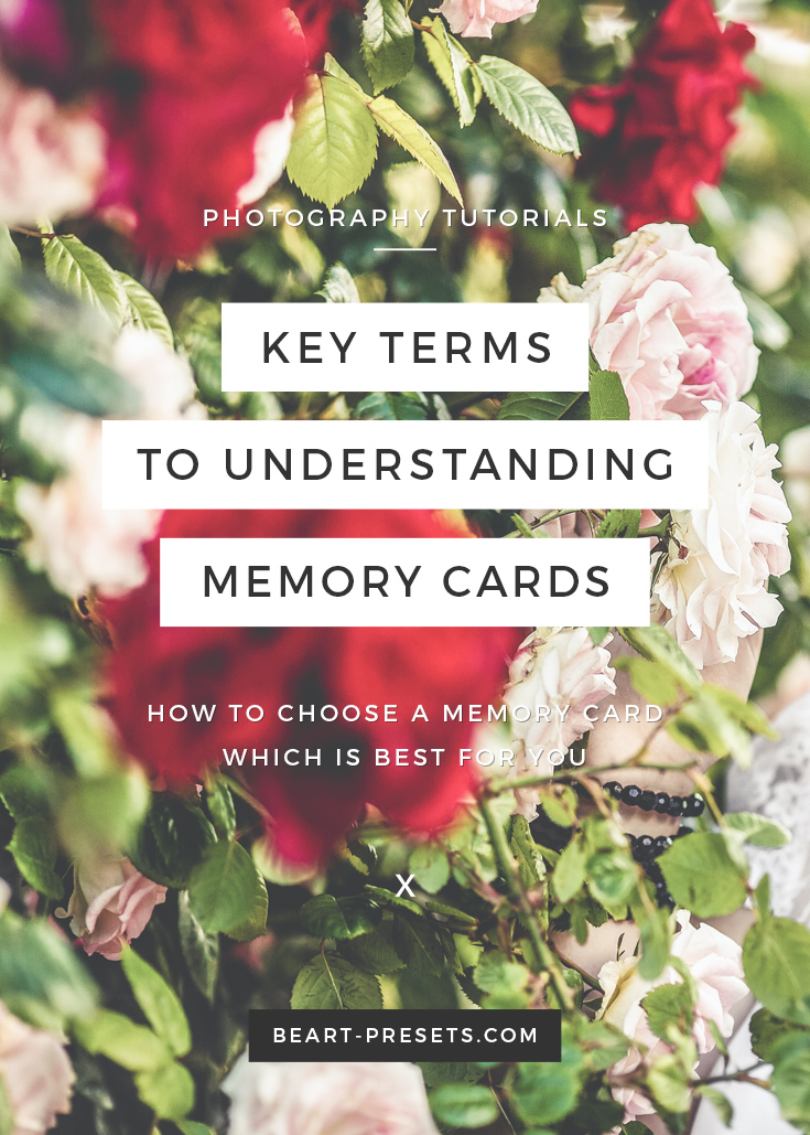 Key terms to understanding memory card | Photography Tutorials