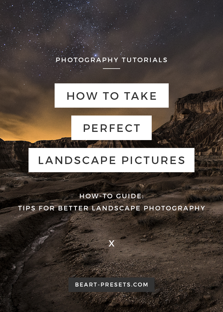 Landscape photography tips on how to take good pictures