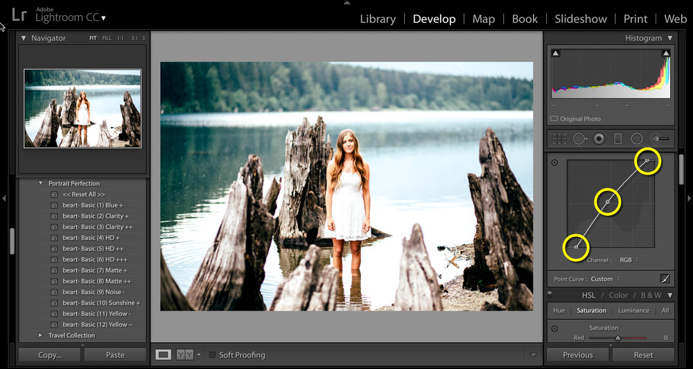 design your photo in lightroom software