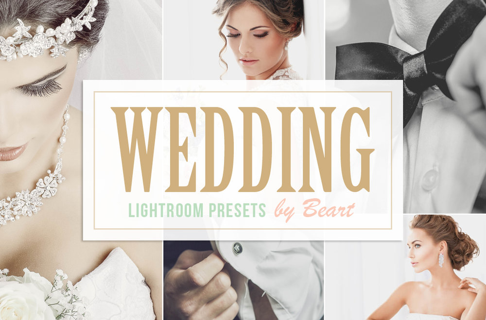 the best wedding presets for lightroom and actions for photoshop
