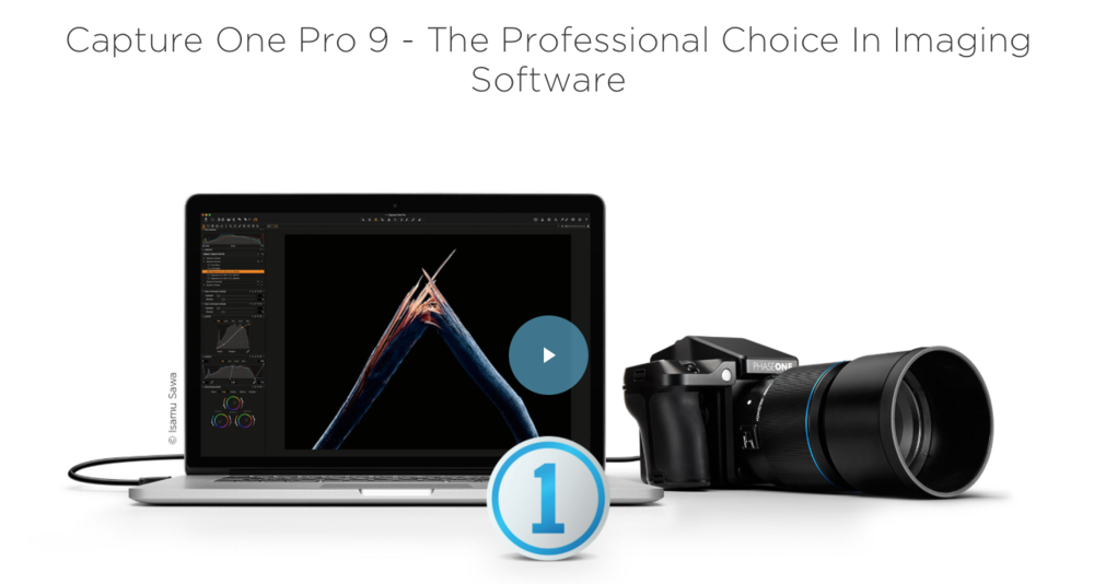 Capture One Pro 9 Imaging Software
