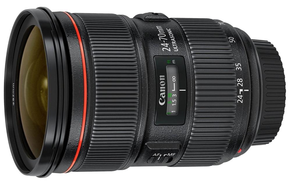 Canon EF 24-70mm f-2.8L II USM Standard Zoom Lens