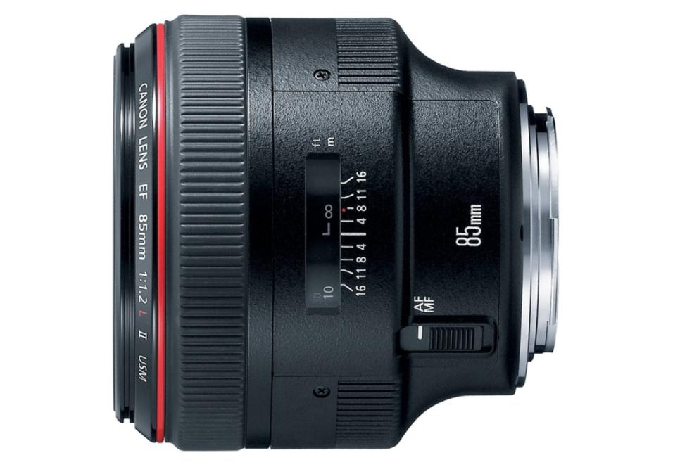 Canon EF 85mm f1.2L II USM Lens for Canon DSLR Cameras