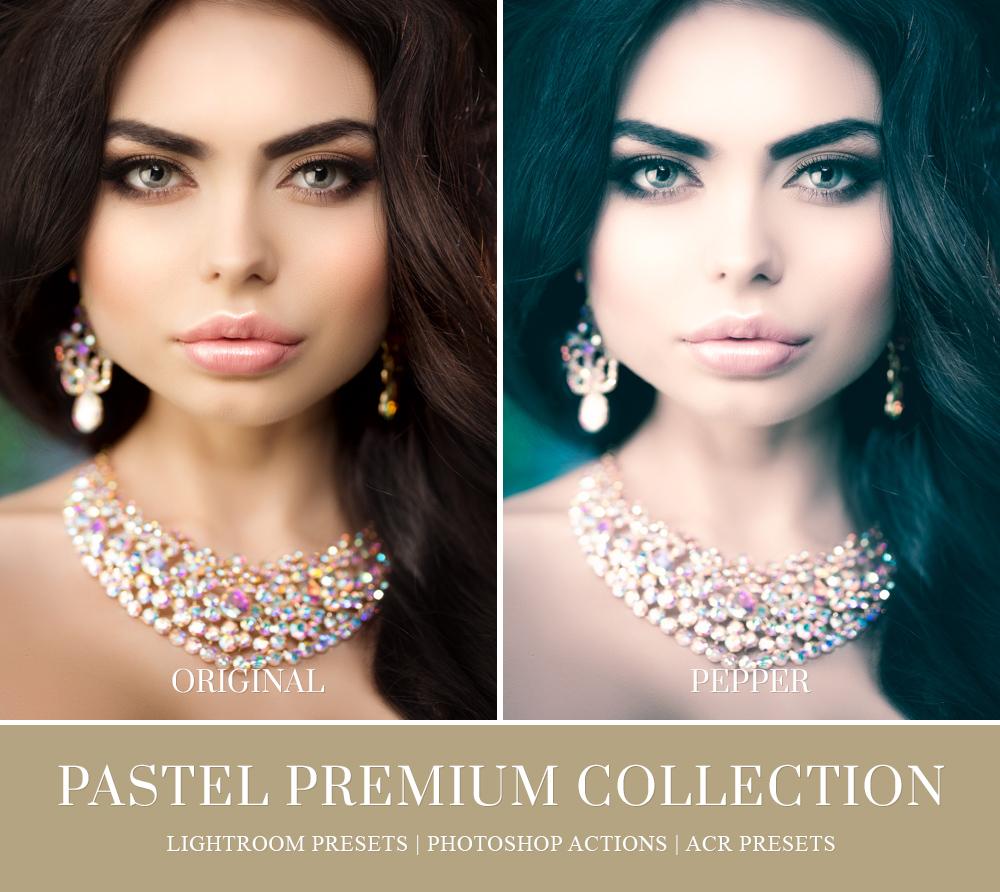 soft pastels for portrait photography