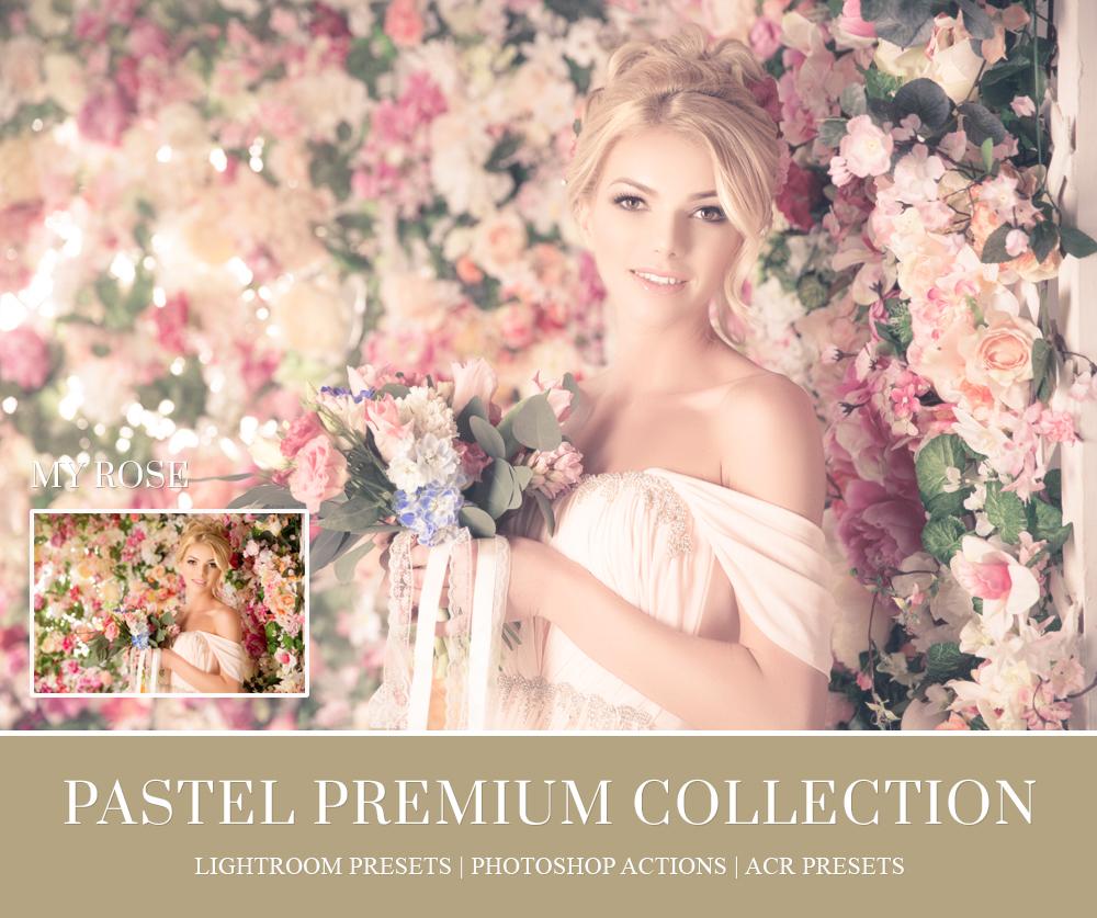 Pretty Pastels soft color lightroom preset
