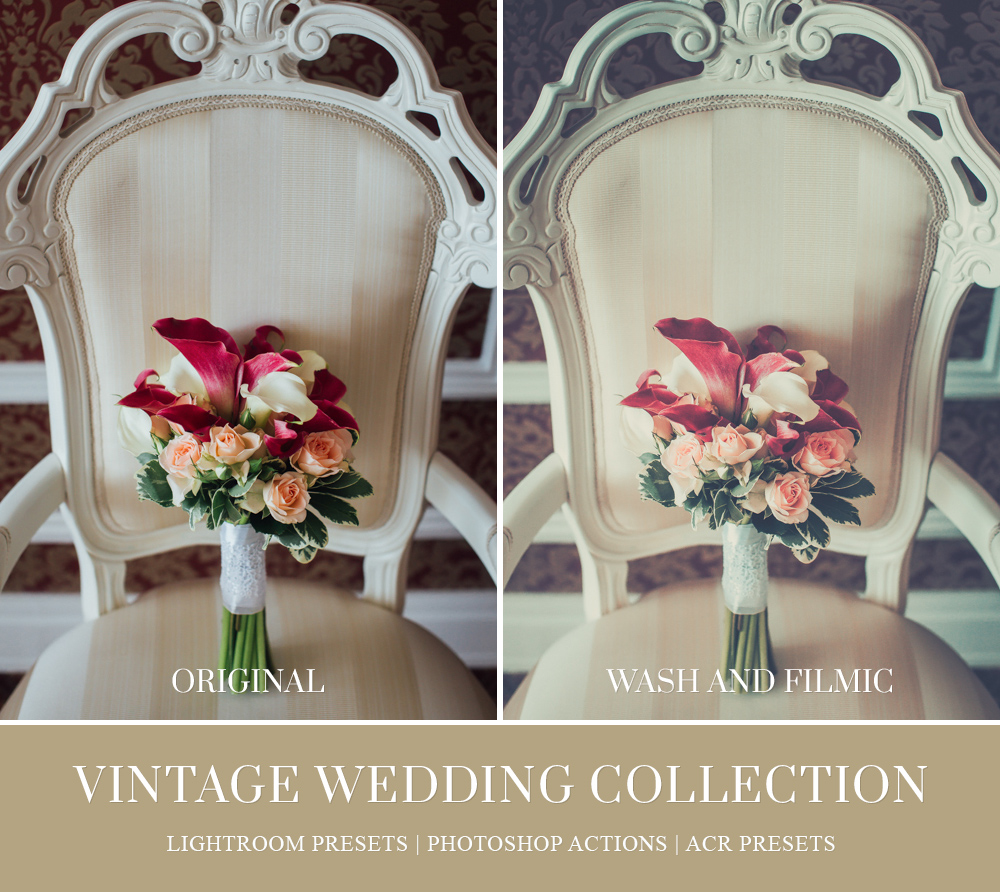 vintage wedding lightroom workflow