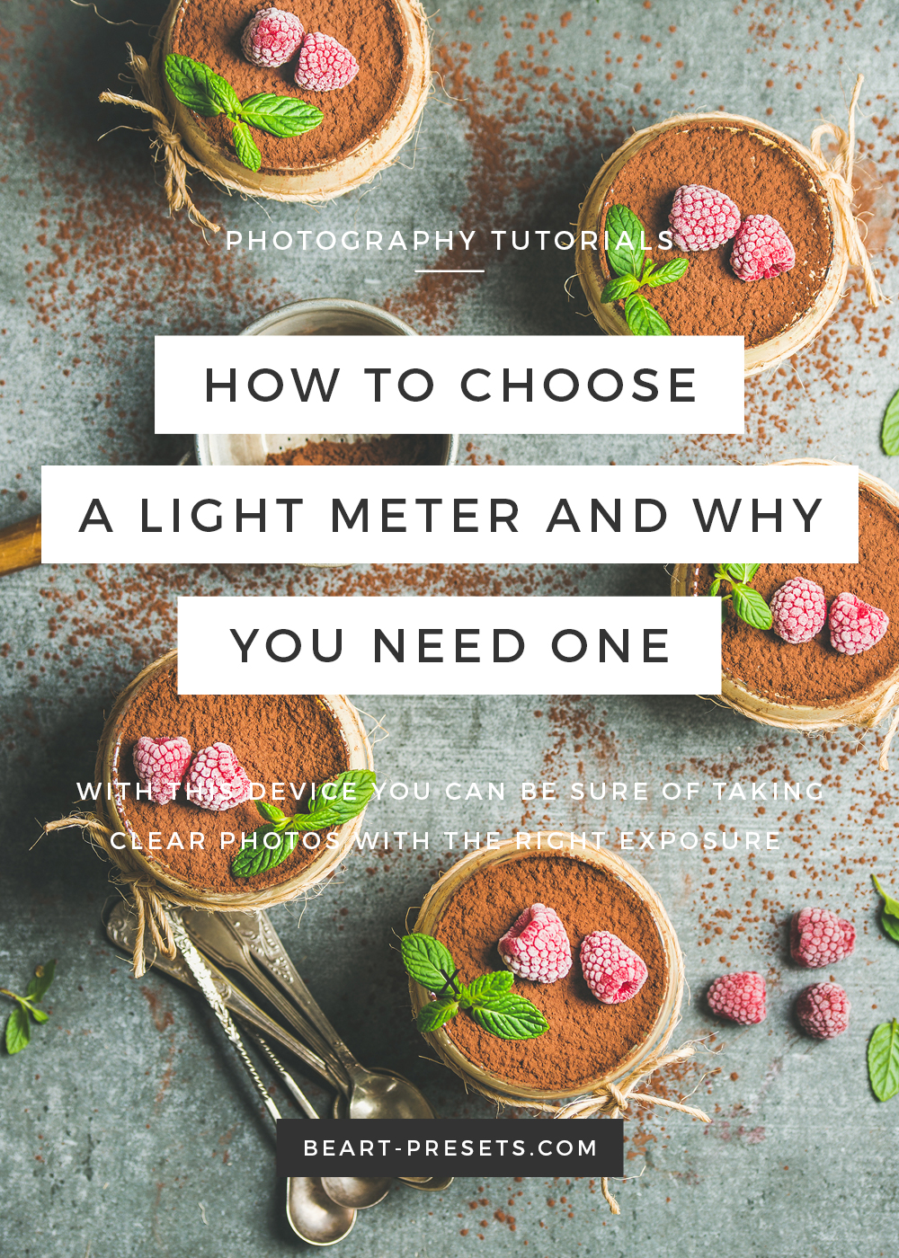 HOW TO CHOOSE A LIGHT METER AND WHY YOU NEED ONE