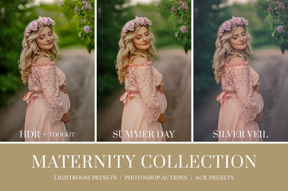 Maternity Photography Photoshop actions