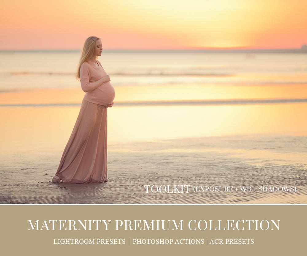 Best maternity Lightroom presets