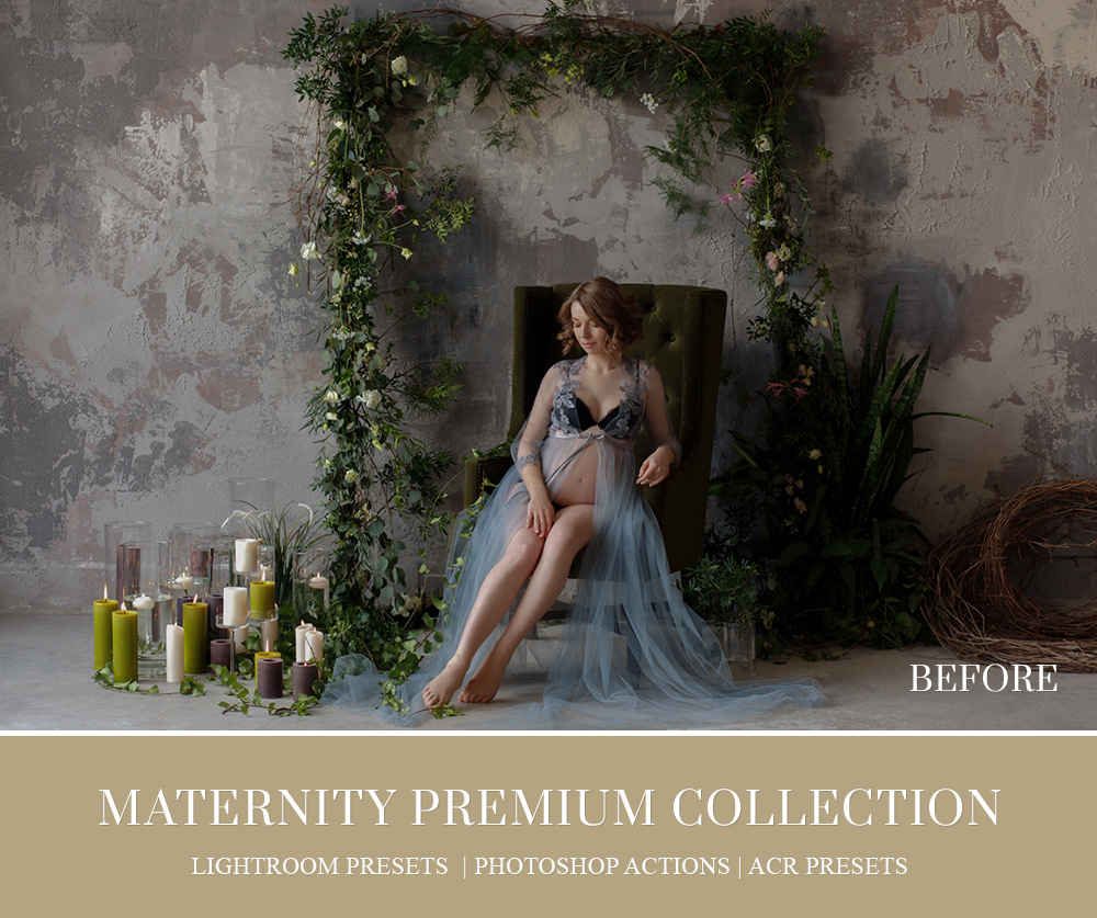 Maternity Photo Shoot Retouching Lightroom presets