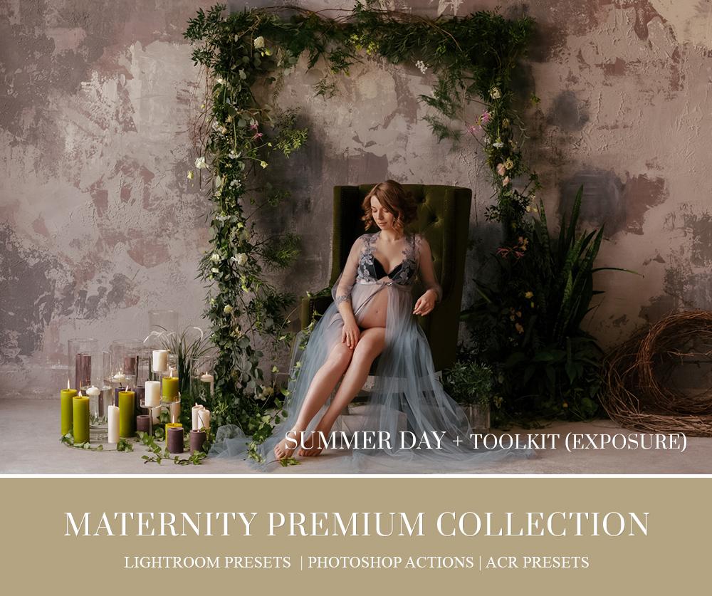 Maternity Photo Shoot Retouching In Photoshop