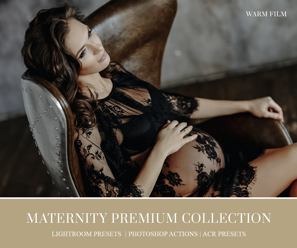 studio maternity portraiture editing presets for lightroom