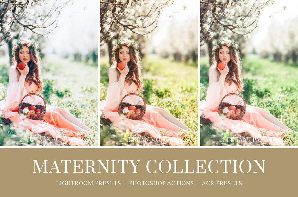 Maternity Photography Editing