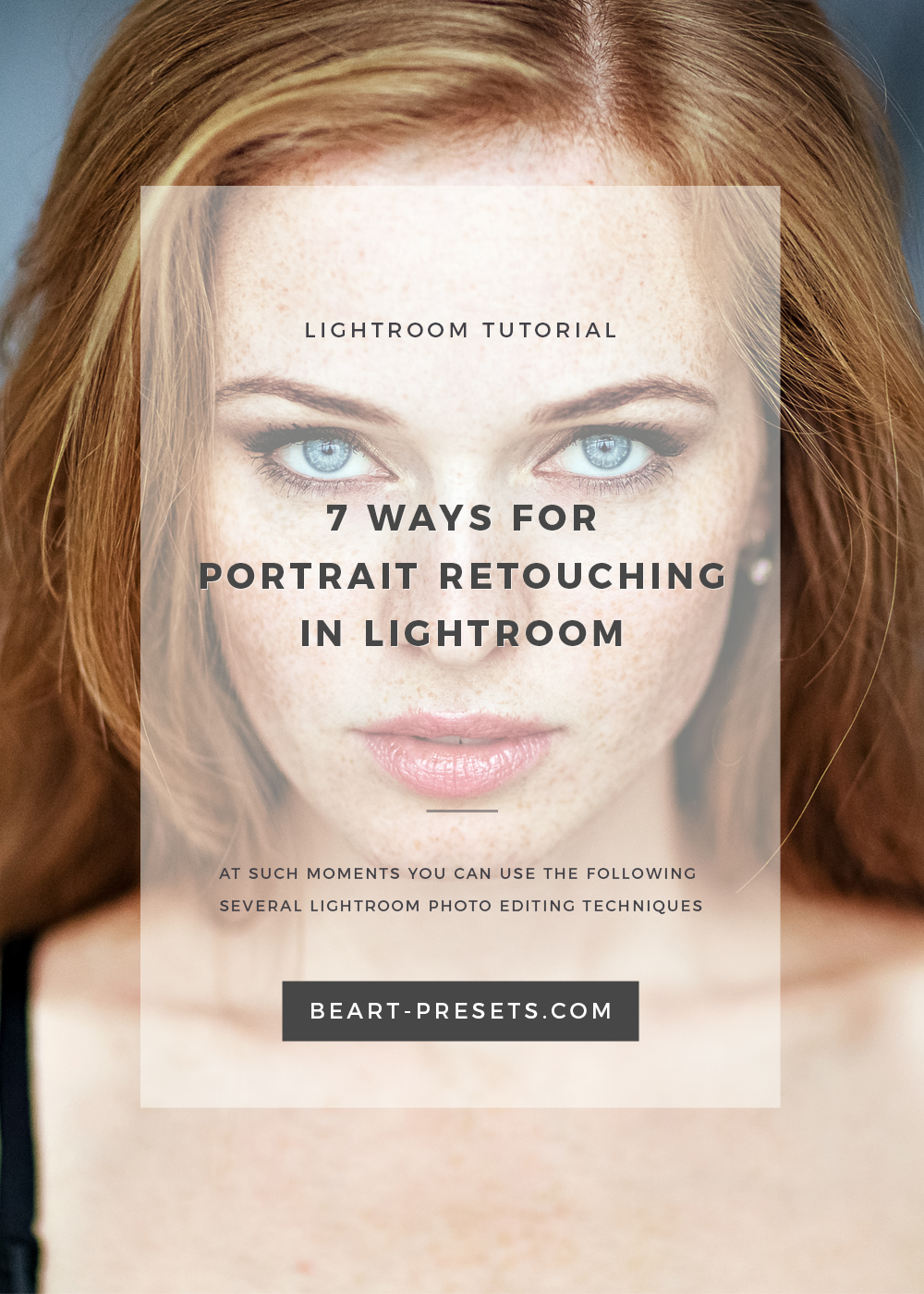7 ways for portrait retouching