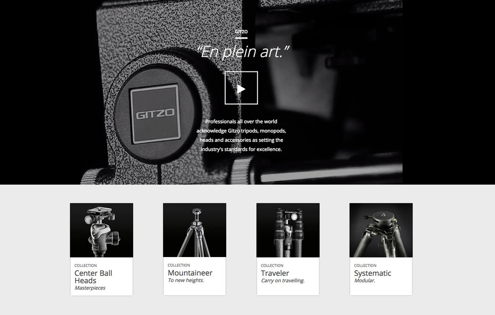 gitzo tripod for photo