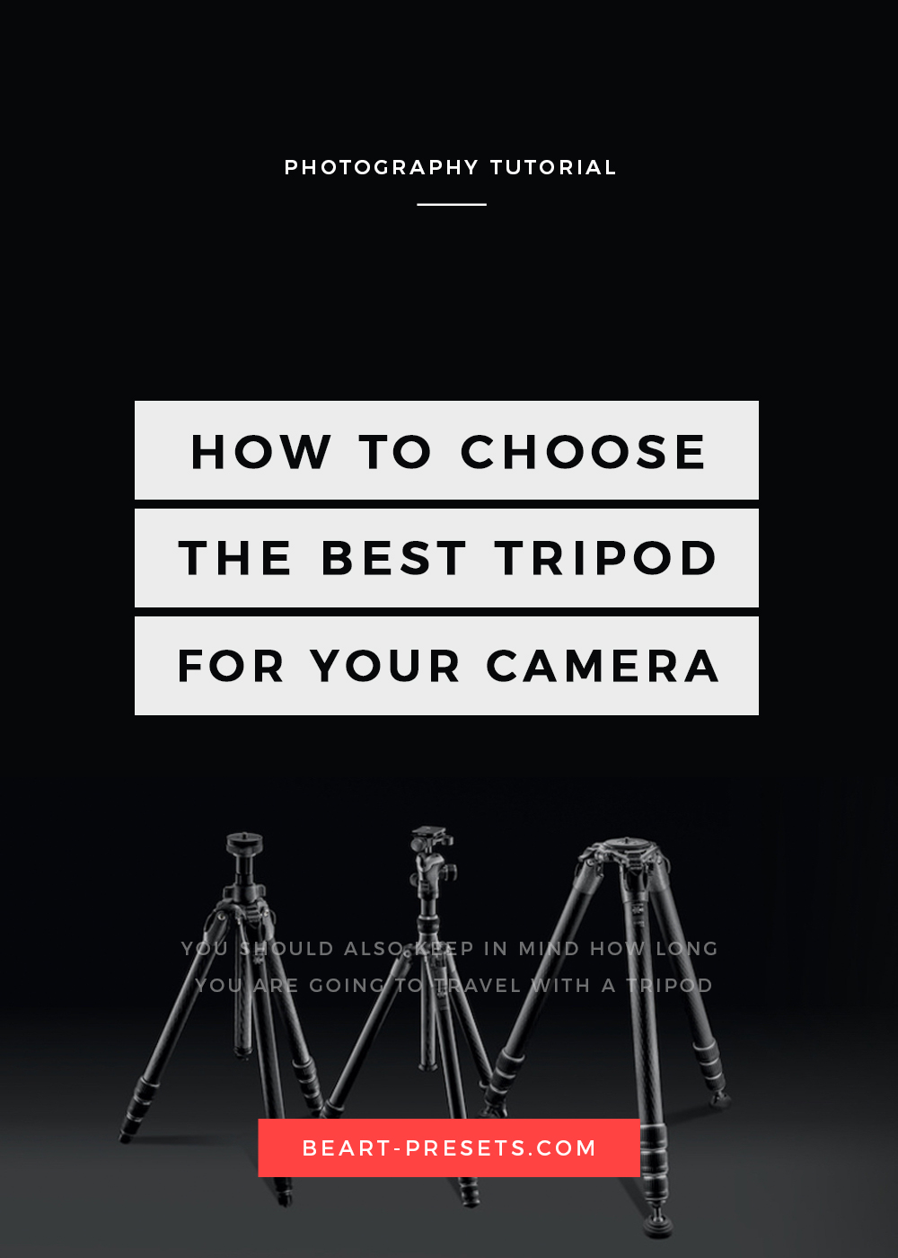 The BEST TRIPOD FOR A DSLR CAMERA