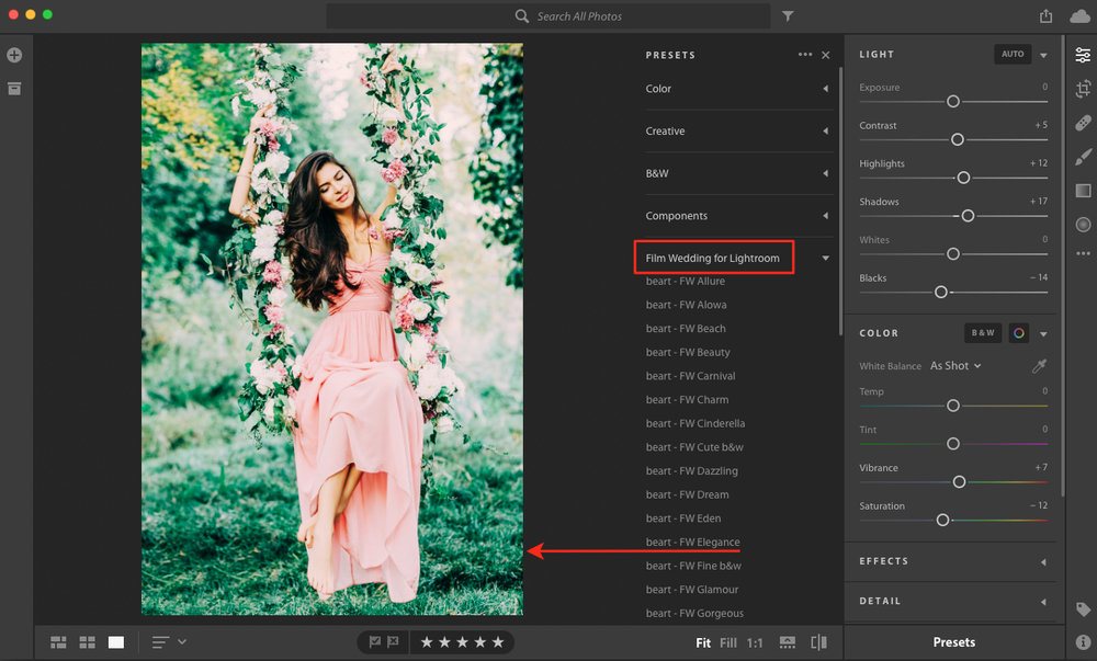 mac lightroom presets folder