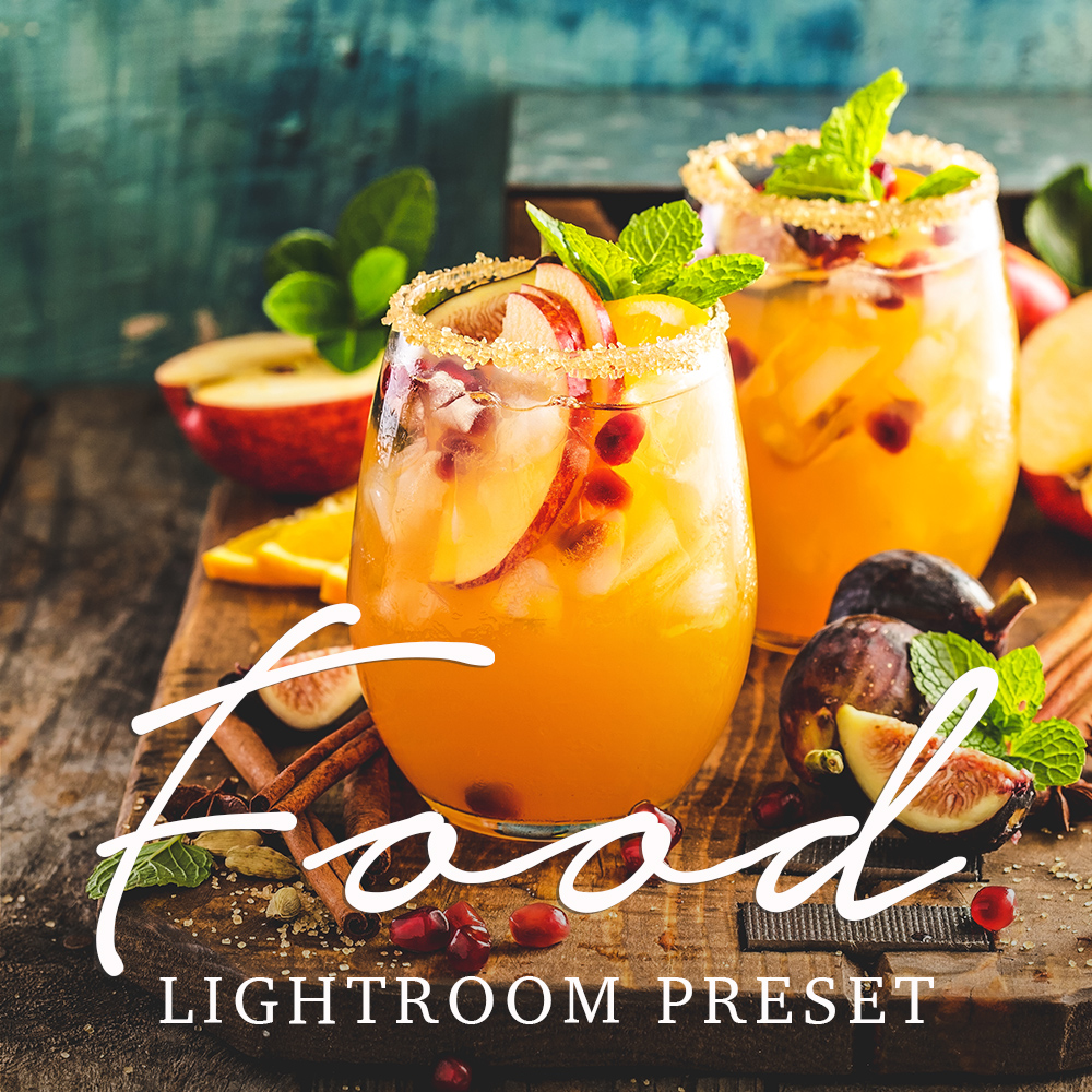 Free Food Photography Lightroom Preset