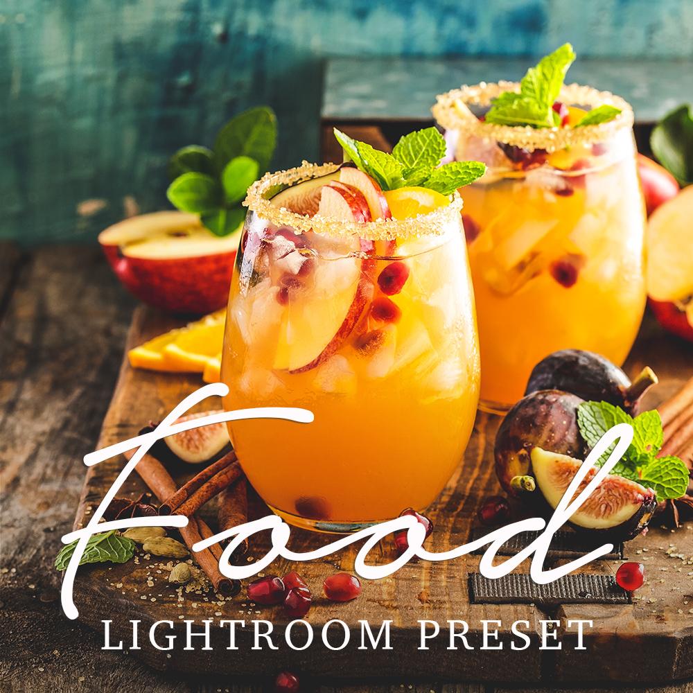 Free Food Photography Lightroom Preset