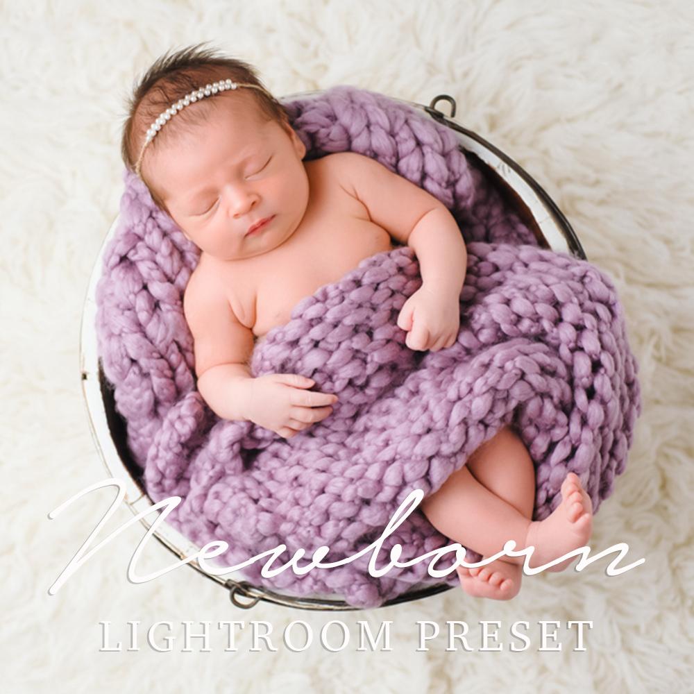 Free newborn baby lightroom preset