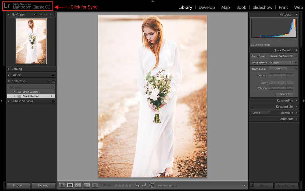sync between lightroom versions