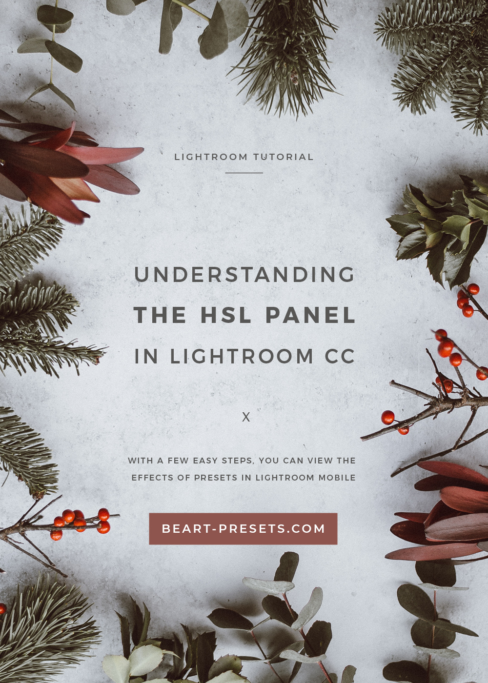 UNDERSTANDING THE HSL PANEL IN LIGHTROOM
