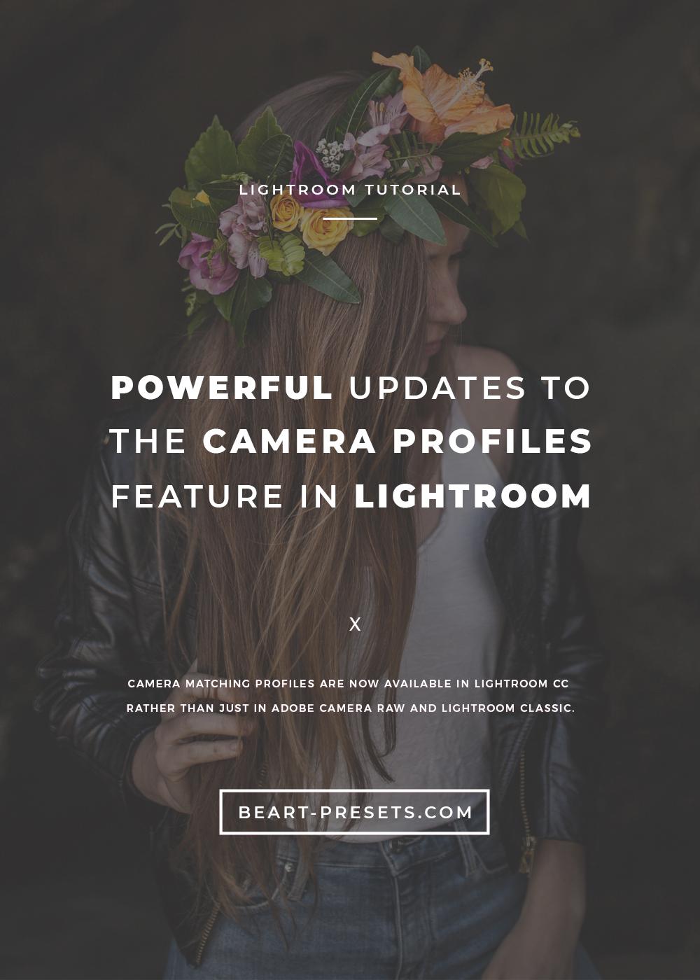 new update for lightroom