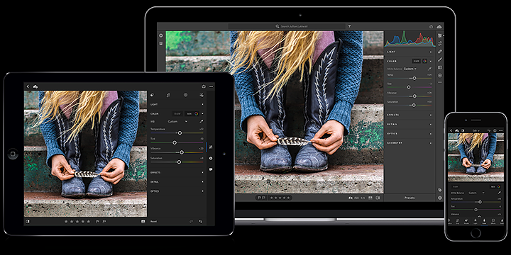 lightroom cc version photo editing software