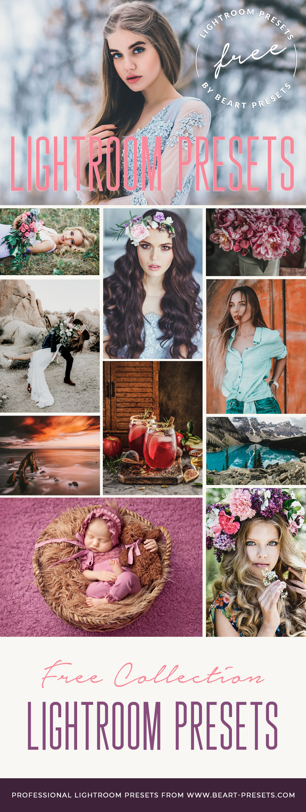 The best free VSCO style Lightroom presets for Instagram