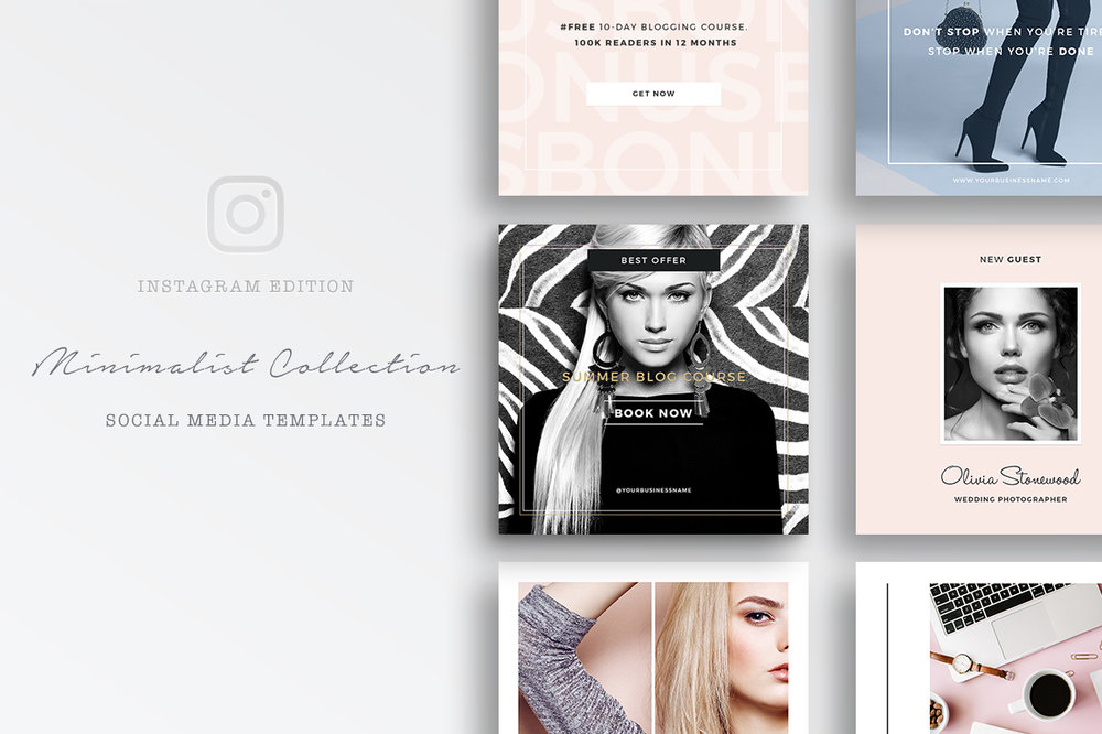Need extra help creating a gorgeous looking Instagram feed? Check out our    Instagram Templates   !