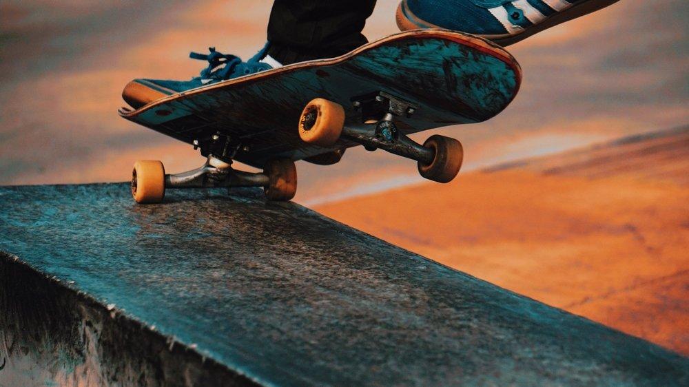 take skateboarder photo