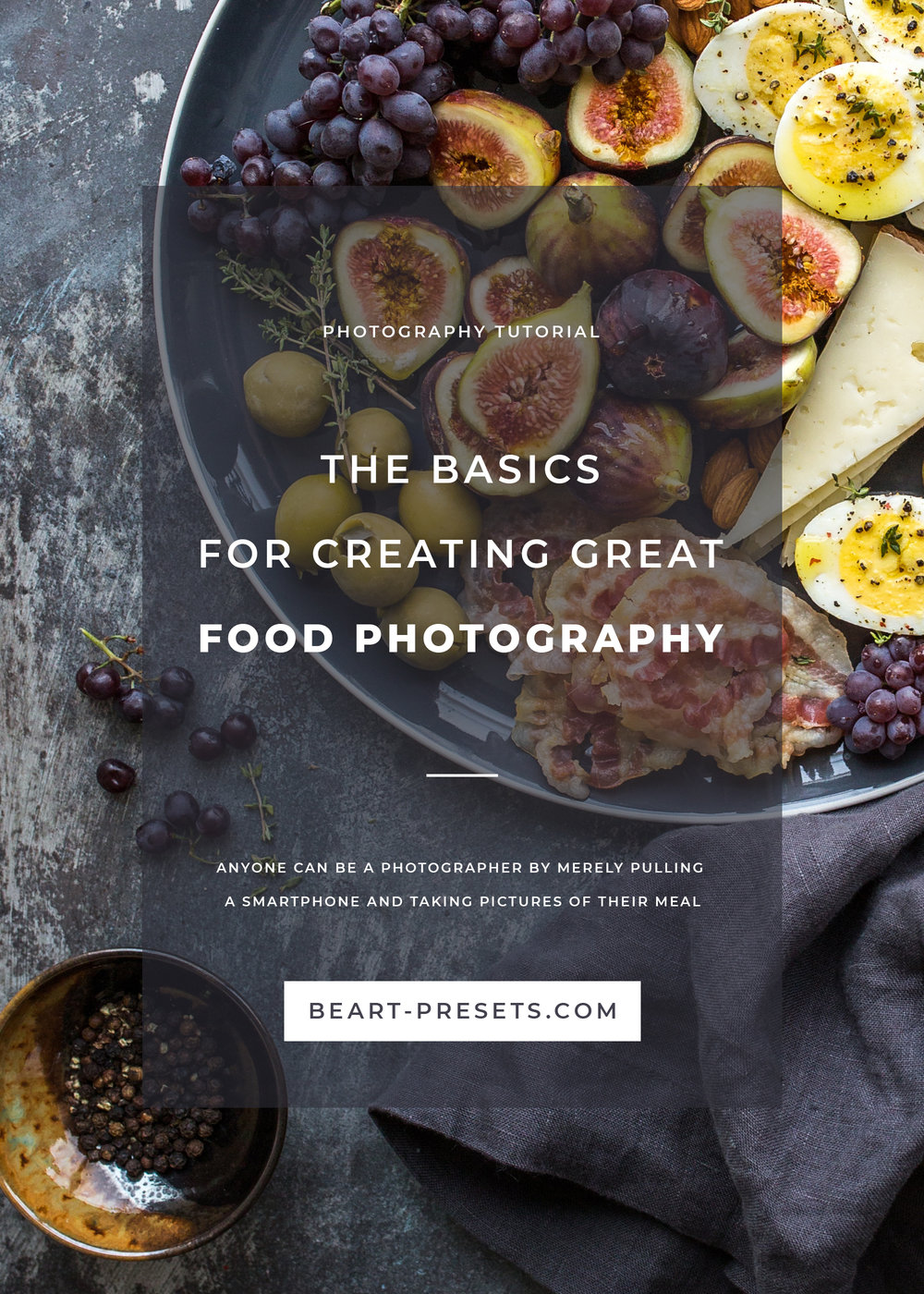 Creating great food photography