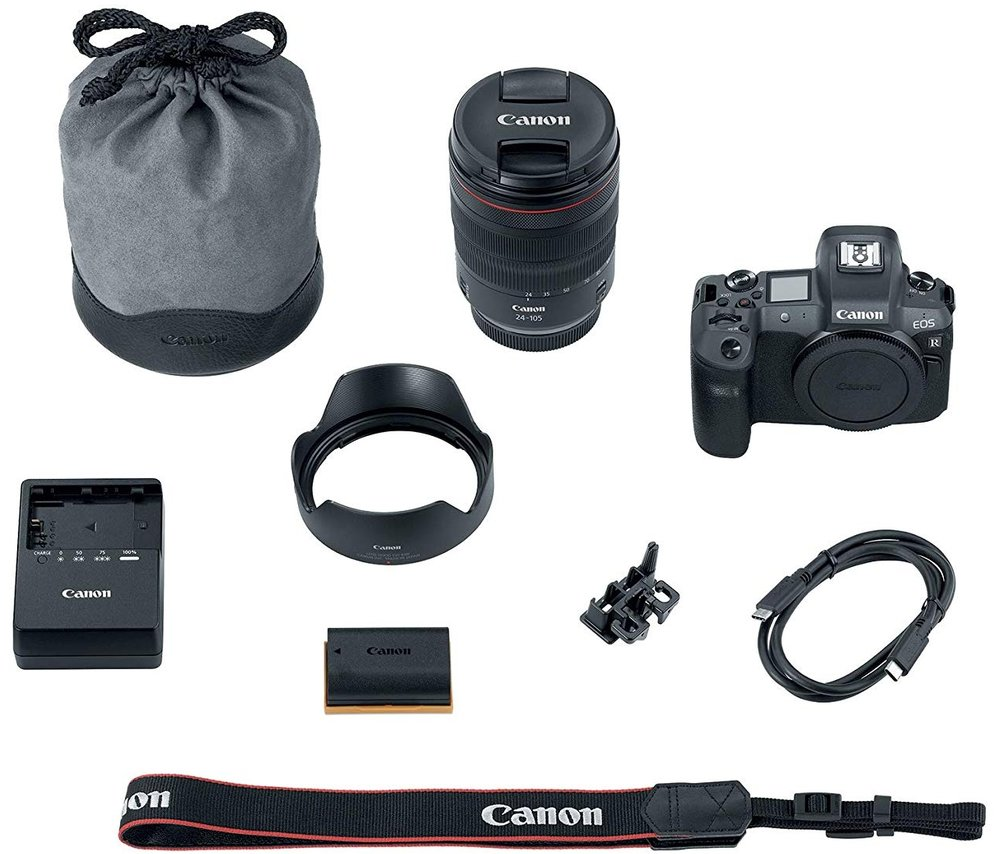 canon eos r mirrorless camera 7