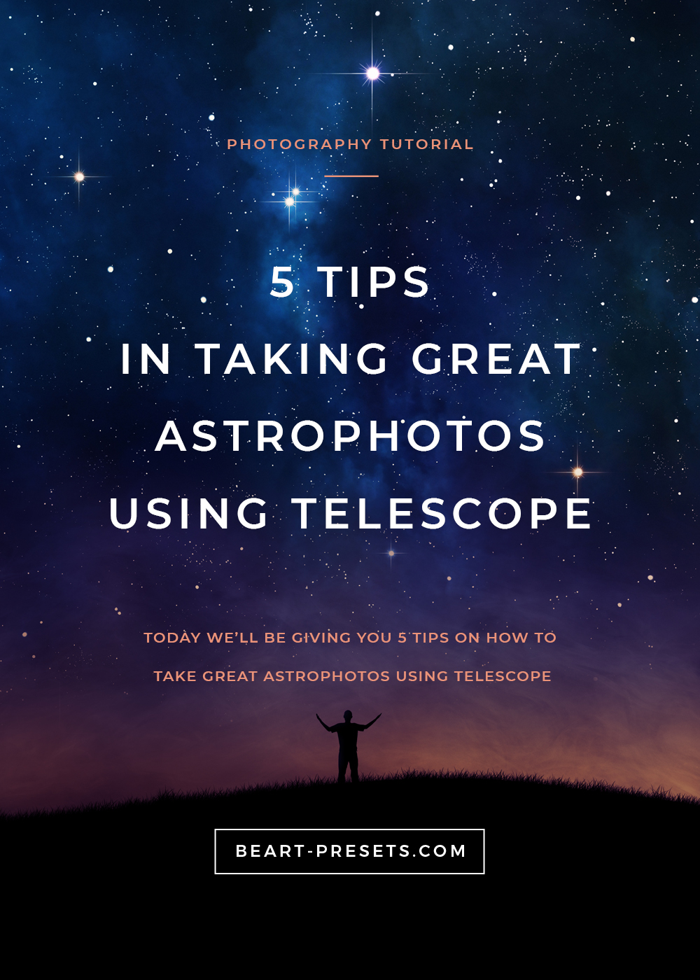 5 TIPS IN TAKING GREAT ASTROPHOTOS USING TELESCOPE