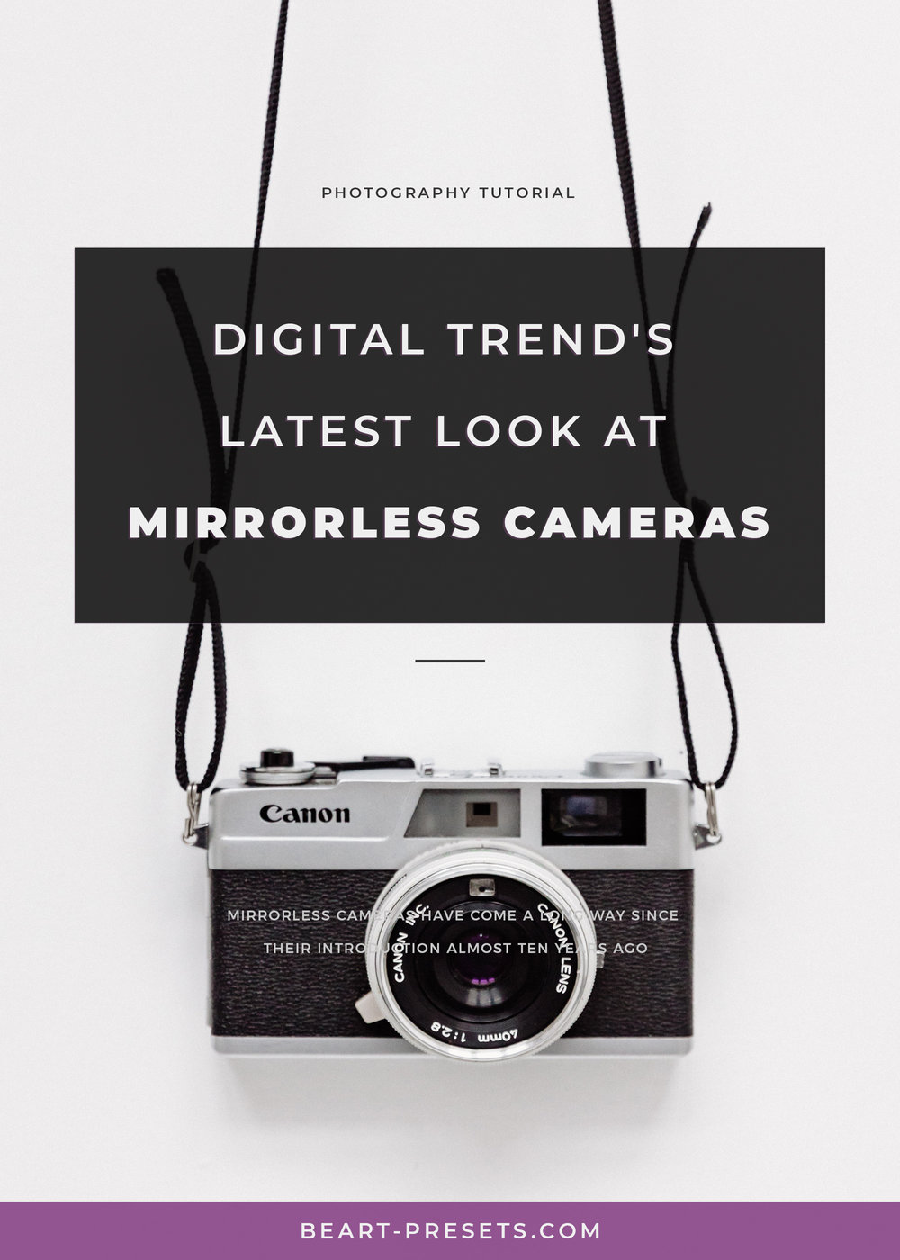 mirrorless camera trends