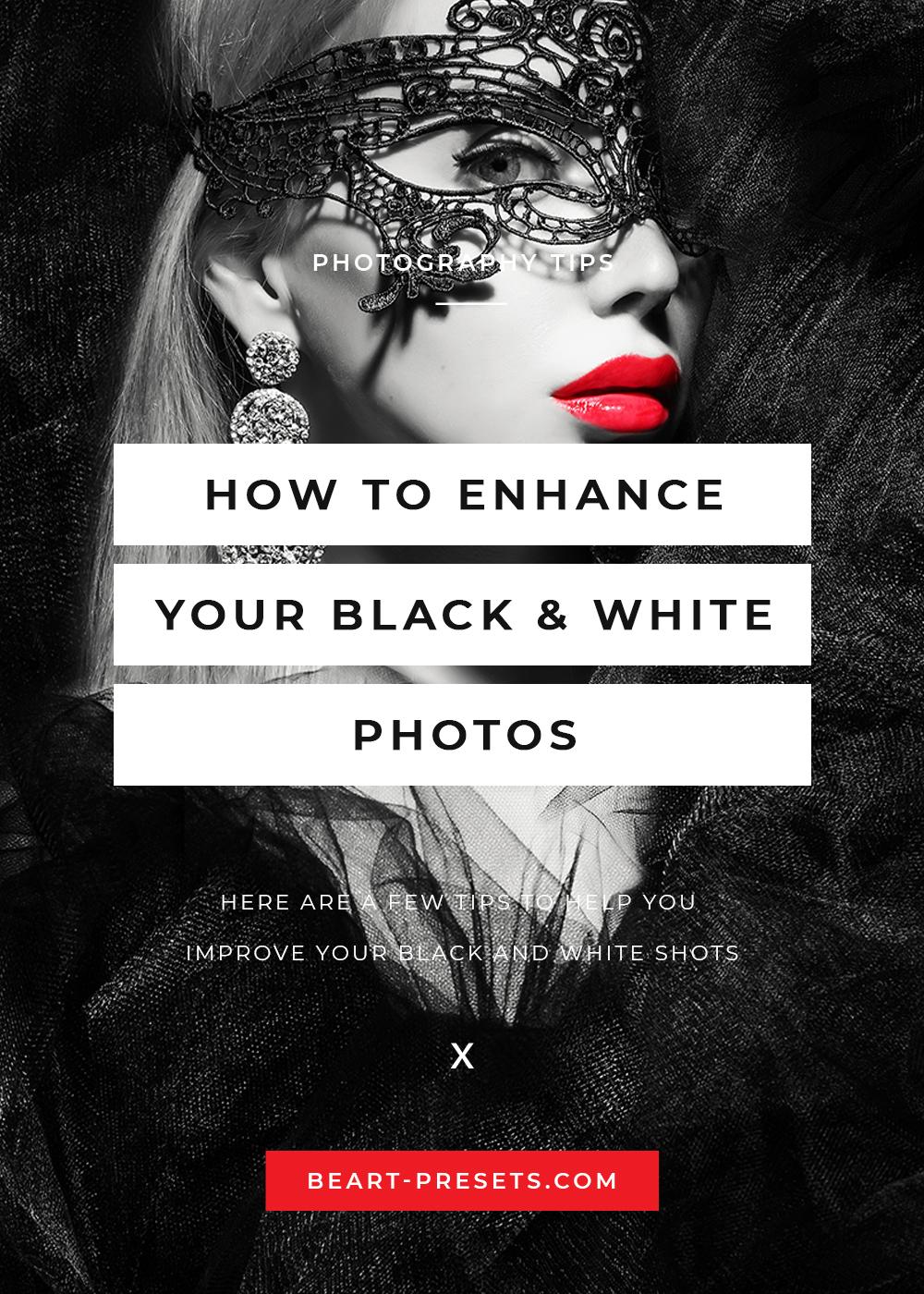 enhance BW photos