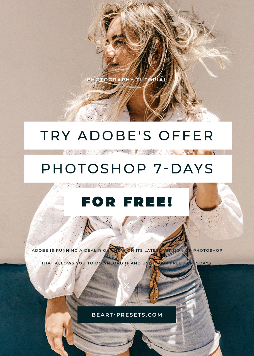 Try Adobe S Offer Photoshop 7 Days For Free