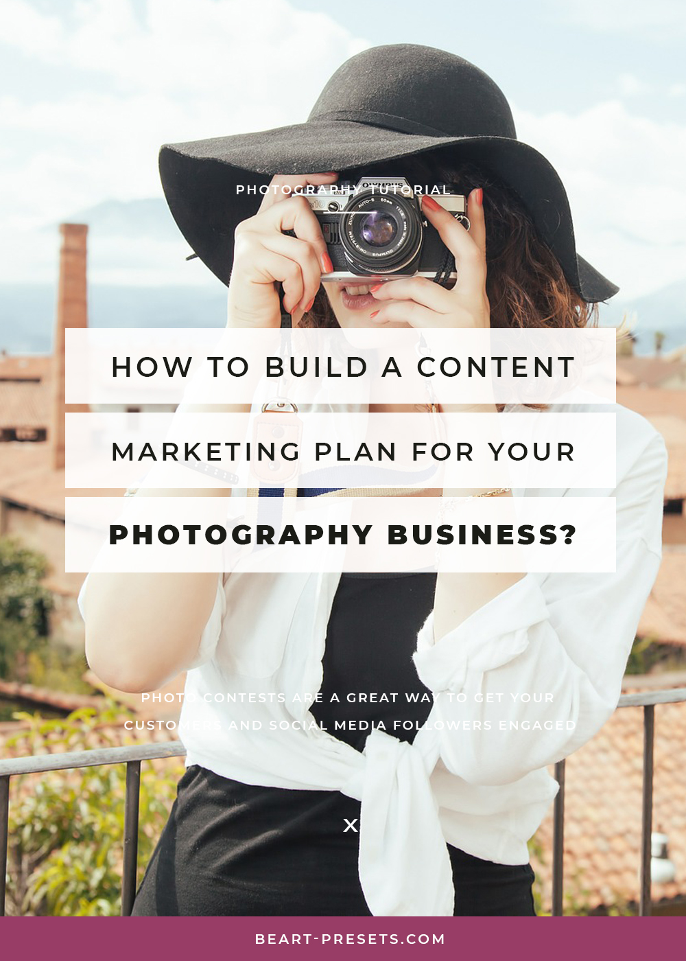 build content photography business