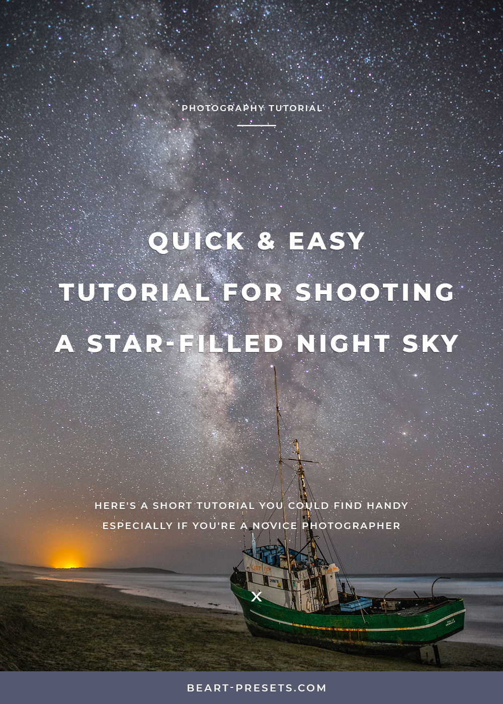 shooting night sky photography