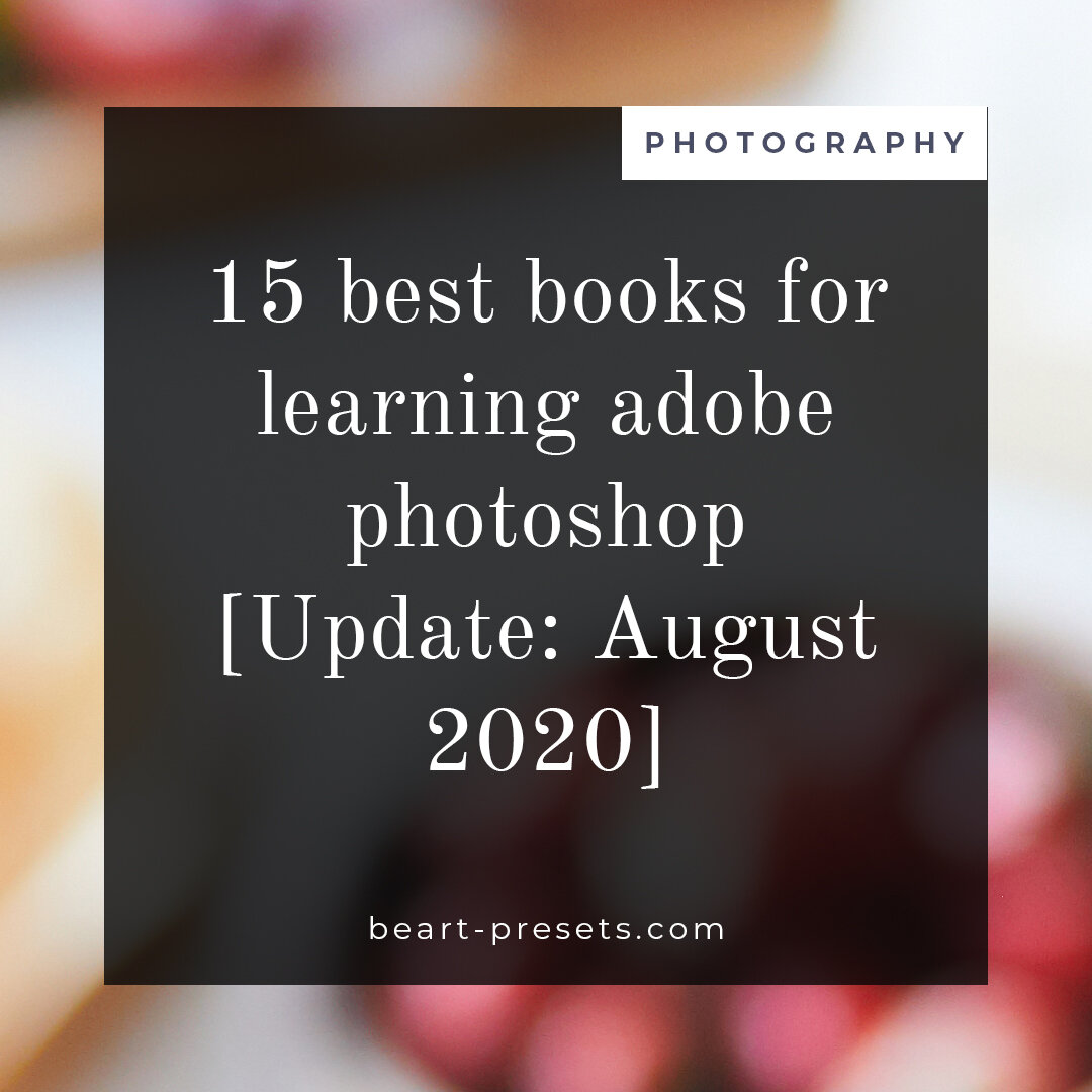 10 Best Books For Learning Adobe Photoshop