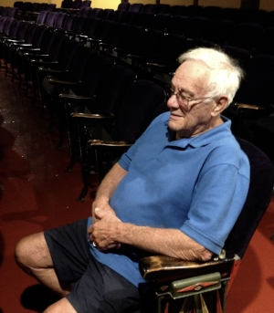 Ralph sits in the orchestra to chat with us about his Criterion memories.