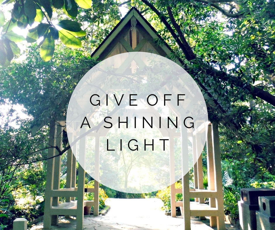 shining light quote
